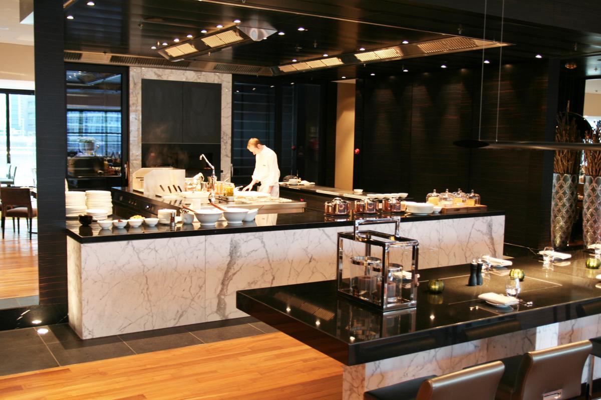 Hyatt Regency Dusseldorf Show Kuche Ian Grubb Consulting